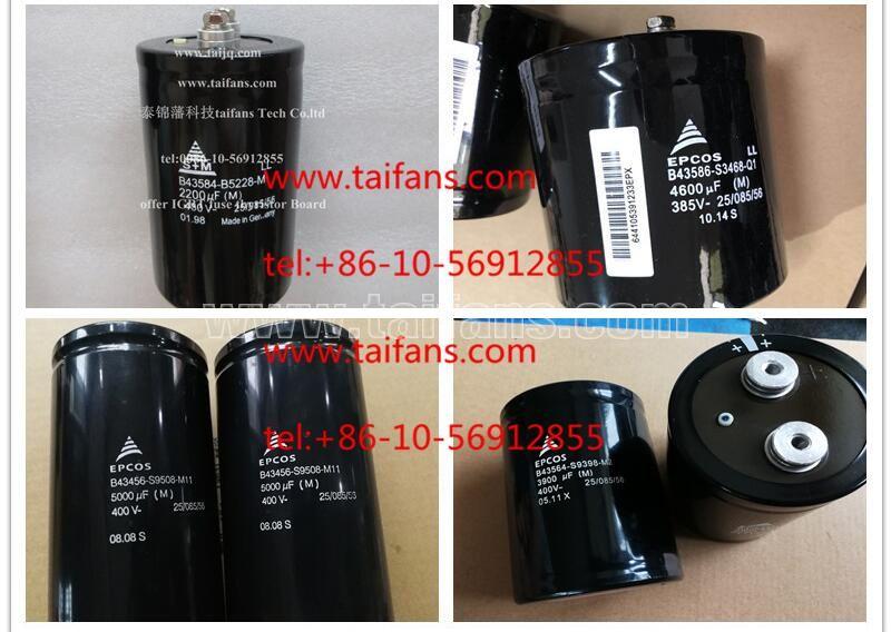 A Epcos 10000uF 450V Kondensator B43406-S5109-A1 BB-3